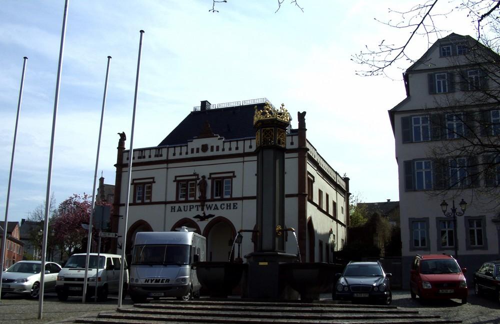 Die Wetzlarer Hauptwache