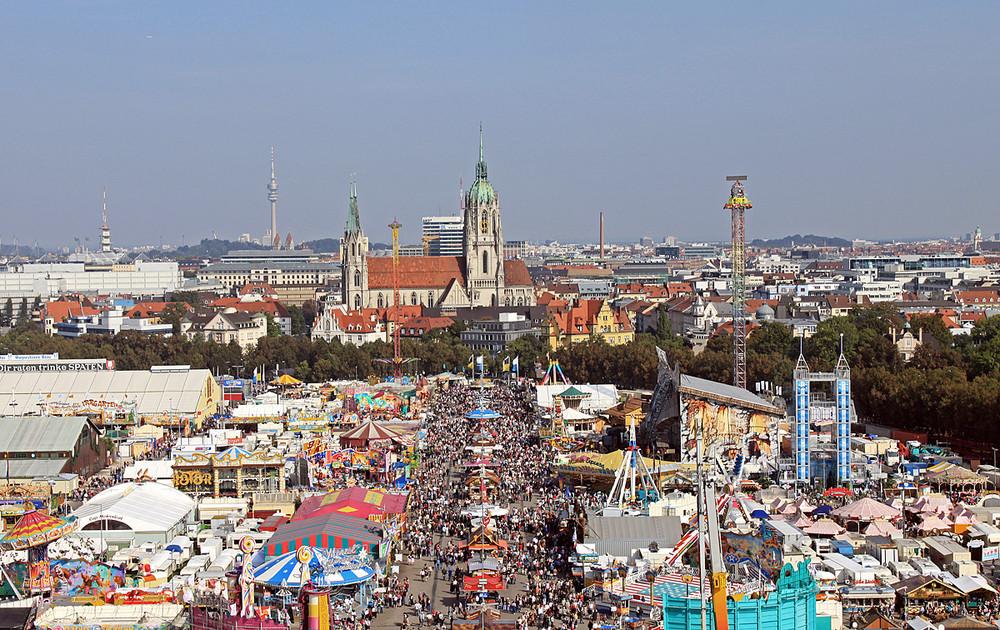 Die Wiesn in München