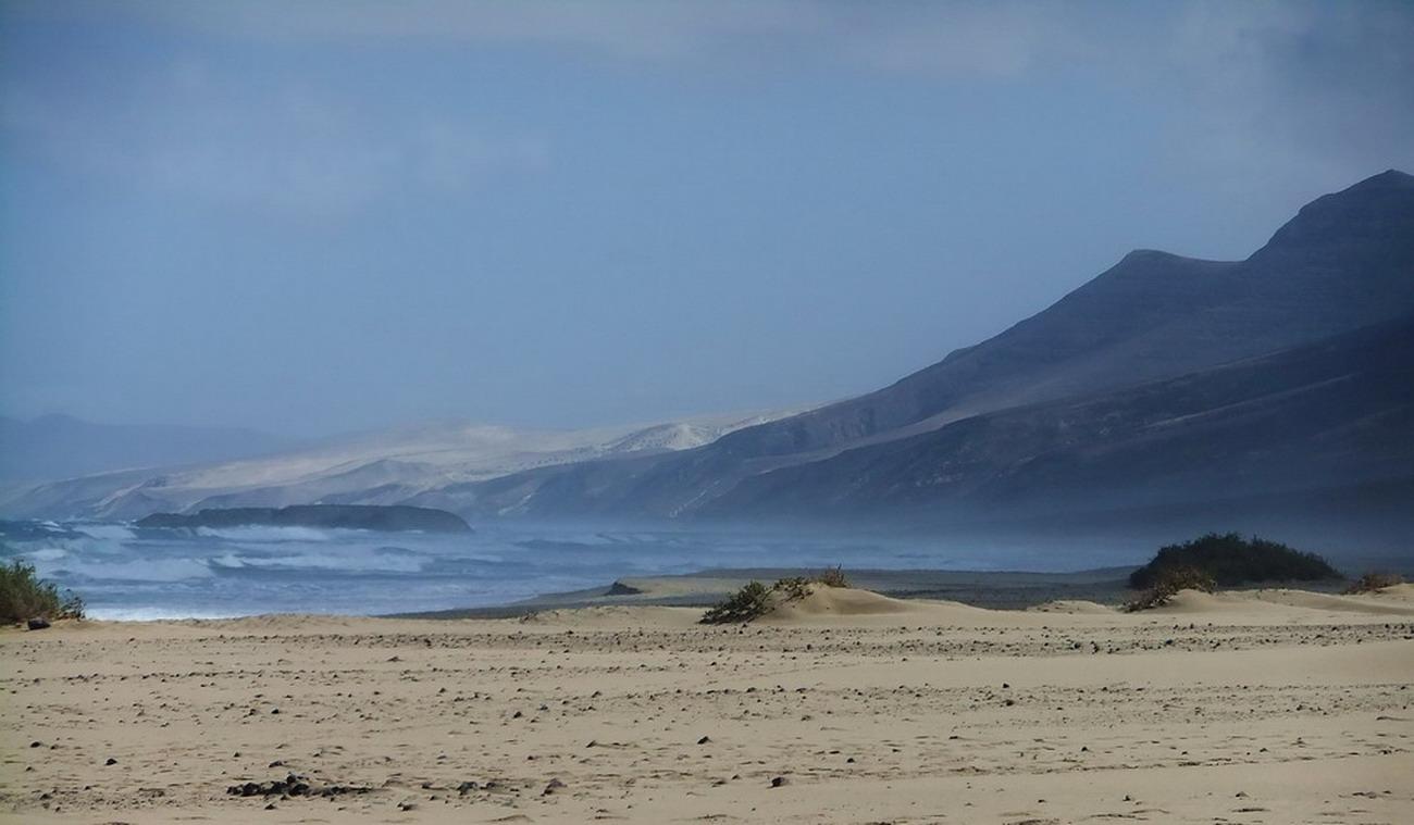 Die wilde Westküste bei Cofete/Fuerteventura