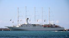 """Die """"Wind Surf"""" im Hafen von Palma de Mallorca"""