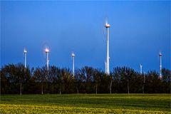 Die Windkraft in Aktion