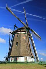 Die Windkraft regelte den Wasserstand