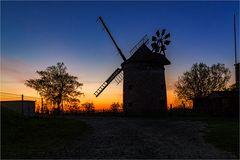 Die Windmühle in Endorf