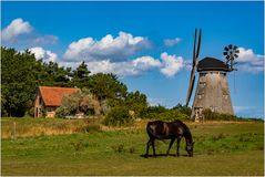 Die Windmühle von Benz