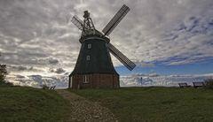 Die Windmühle von Stove