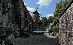 Die Windmühle von Zons / Dormagen