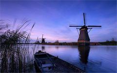 Die Windmühlen vom Kinderdijk