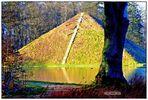 Die winterliche Wasserpyramide