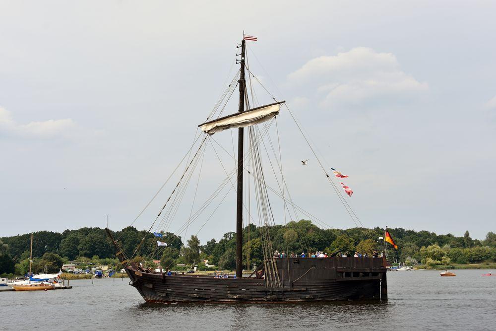 """Die """"Wissemara"""" zur Hanse Sail in Rostock"""