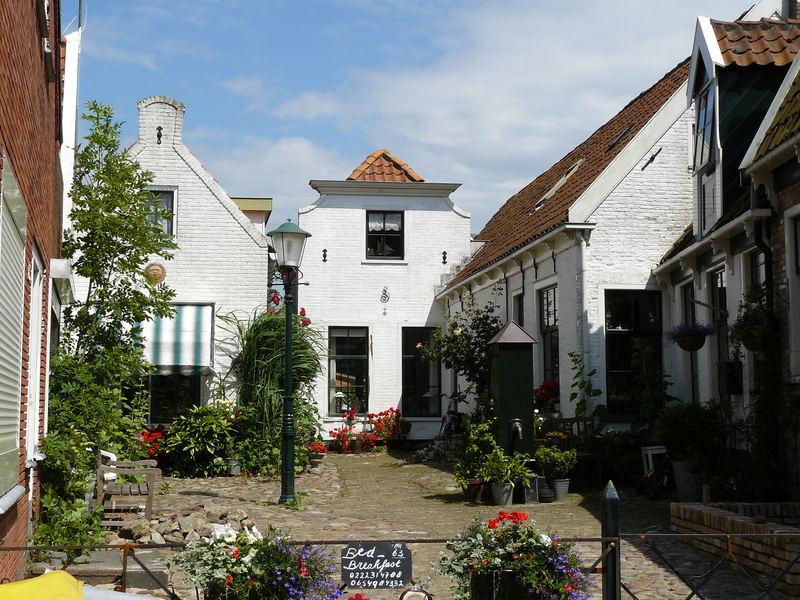 Die wohl am meisten abgelichtete Straße von Texel