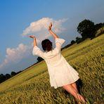 Die Wolke fangen ;-)