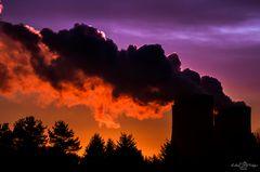 Die Wolken brennen...