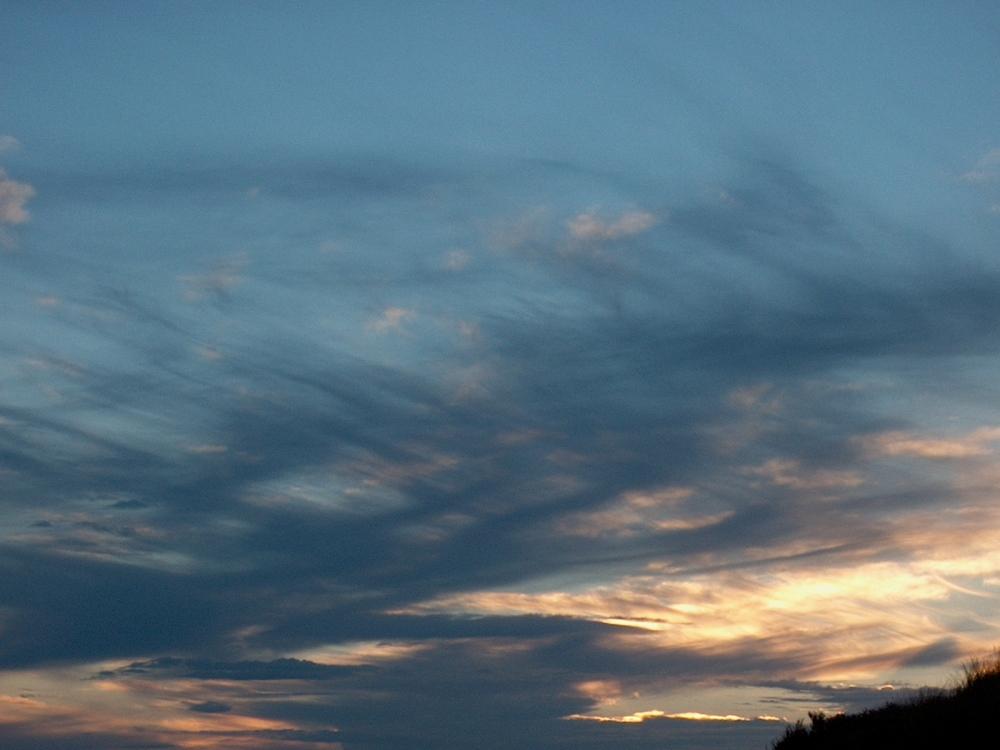 """Die Wolken fetzen! Oder auch """"Wolkenfetzen"""" ;-)"""