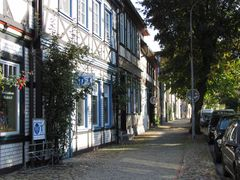 Die Wollweberstraße in Salzwedel
