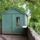 """Die """" writing shed"""" des  Schriftstellers Dylan Thomas ..."""