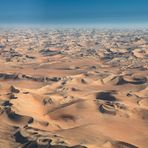 Die Wüste aus der Vogelperspektive...