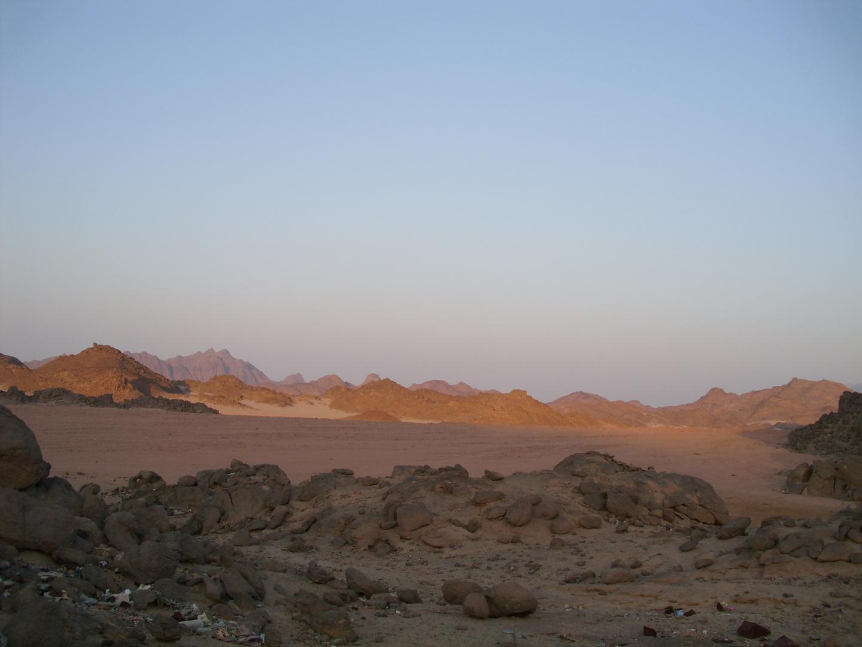 Die Wüste von Afrika