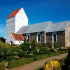 Die wunderschöne Vennebjerg Kirke in Nordjütland