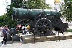 Die Zarenkanone im Kreml aus der......