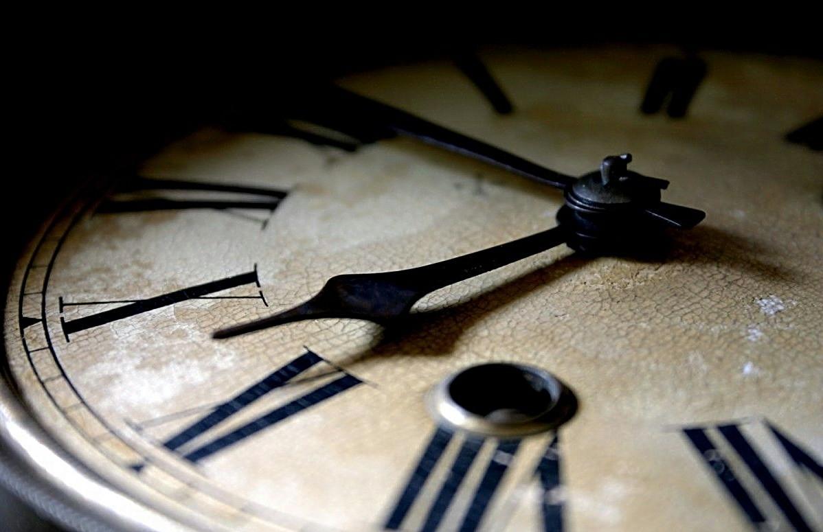 Die Zeit bleibt nicht stehen.