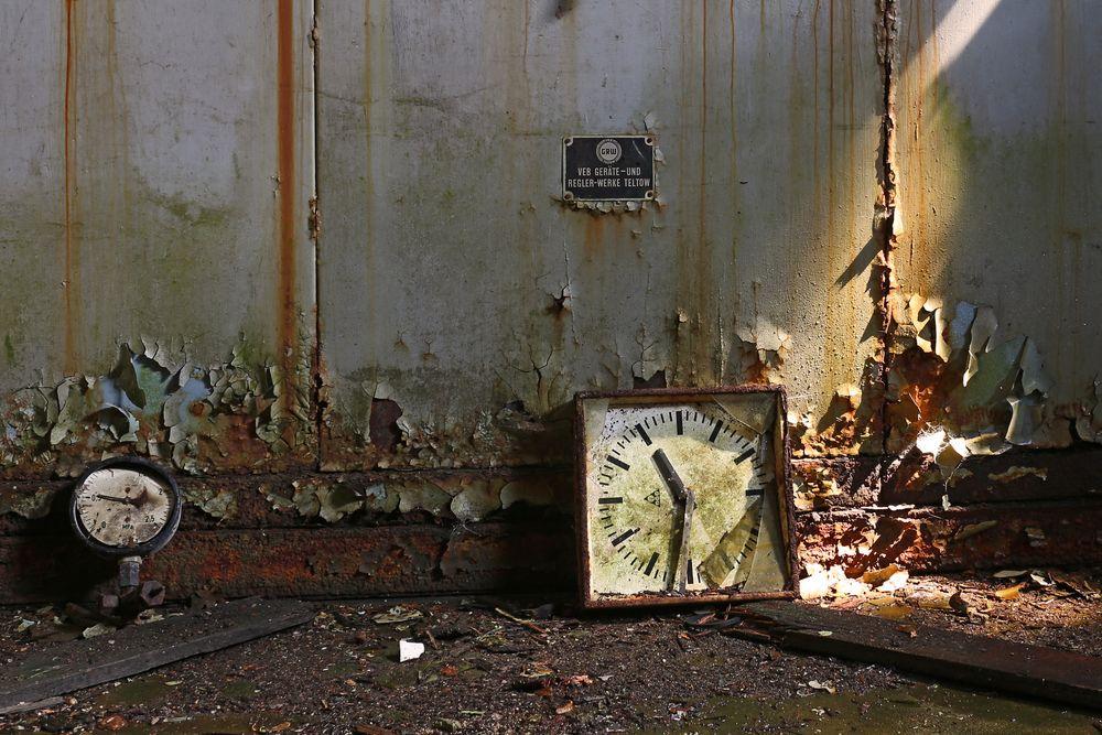 Die Zeit ist abgelaufen!