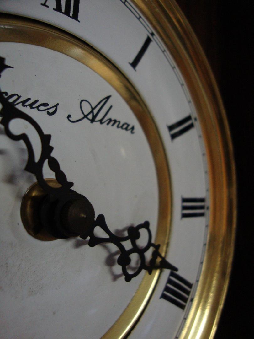 Die Zeit steht still...