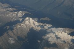 Die Zillertaler Alpen von oben