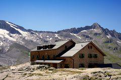 Die Zittauer Hütte, 2329 m