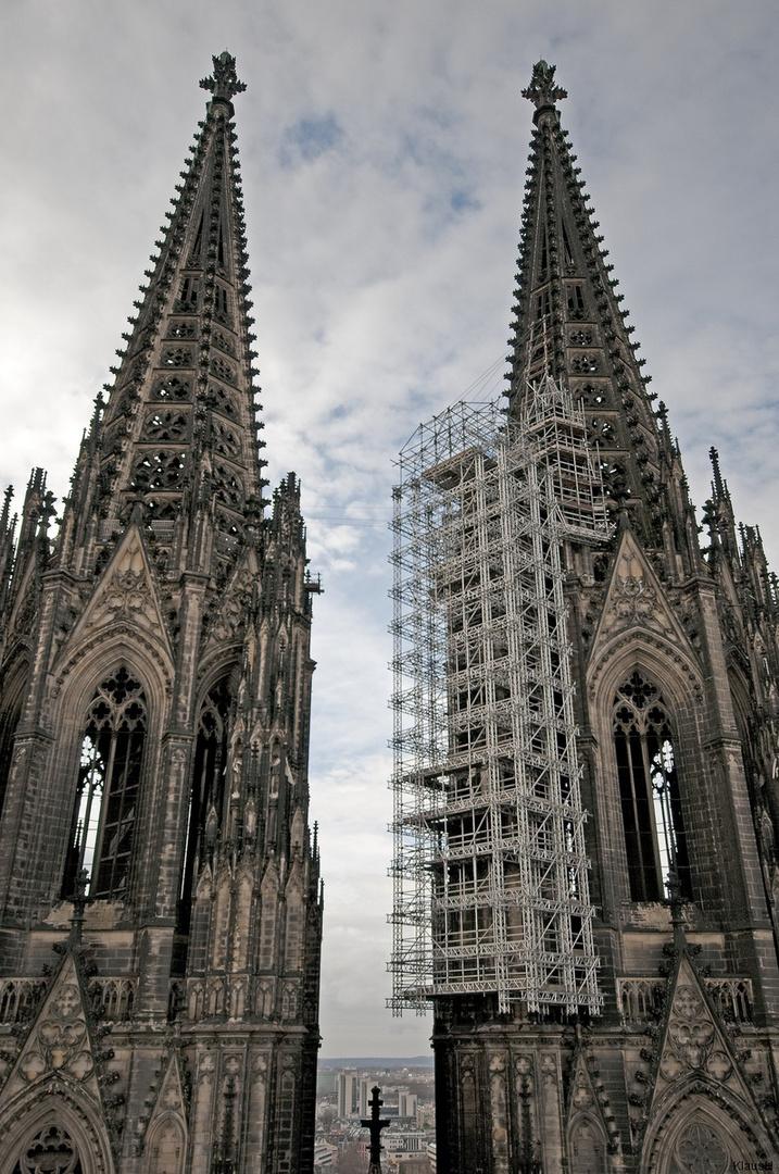 Die zwei Türme ... in Köln
