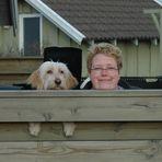 Die zwei von der Terrasse... ;-)