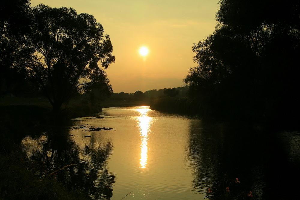 Die Zwickauer Mulde bei Waldenburg