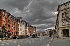 Die Zwickauer Straße...