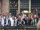Diego als DFB-Pokal-Sieger von Werder Bremen