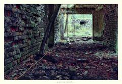 Diele eines alten Bauernhauses