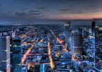Über den Dächern von Frankfurt