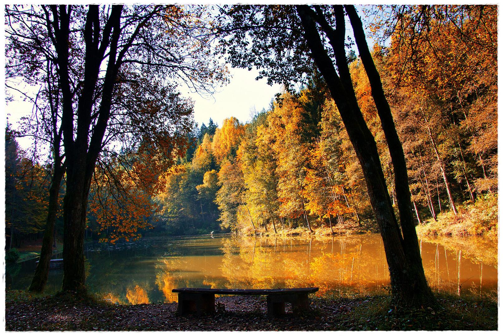 Dies ist ein Herbsttag....
