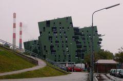 ... diese Architektur beim Gasometer in Wien