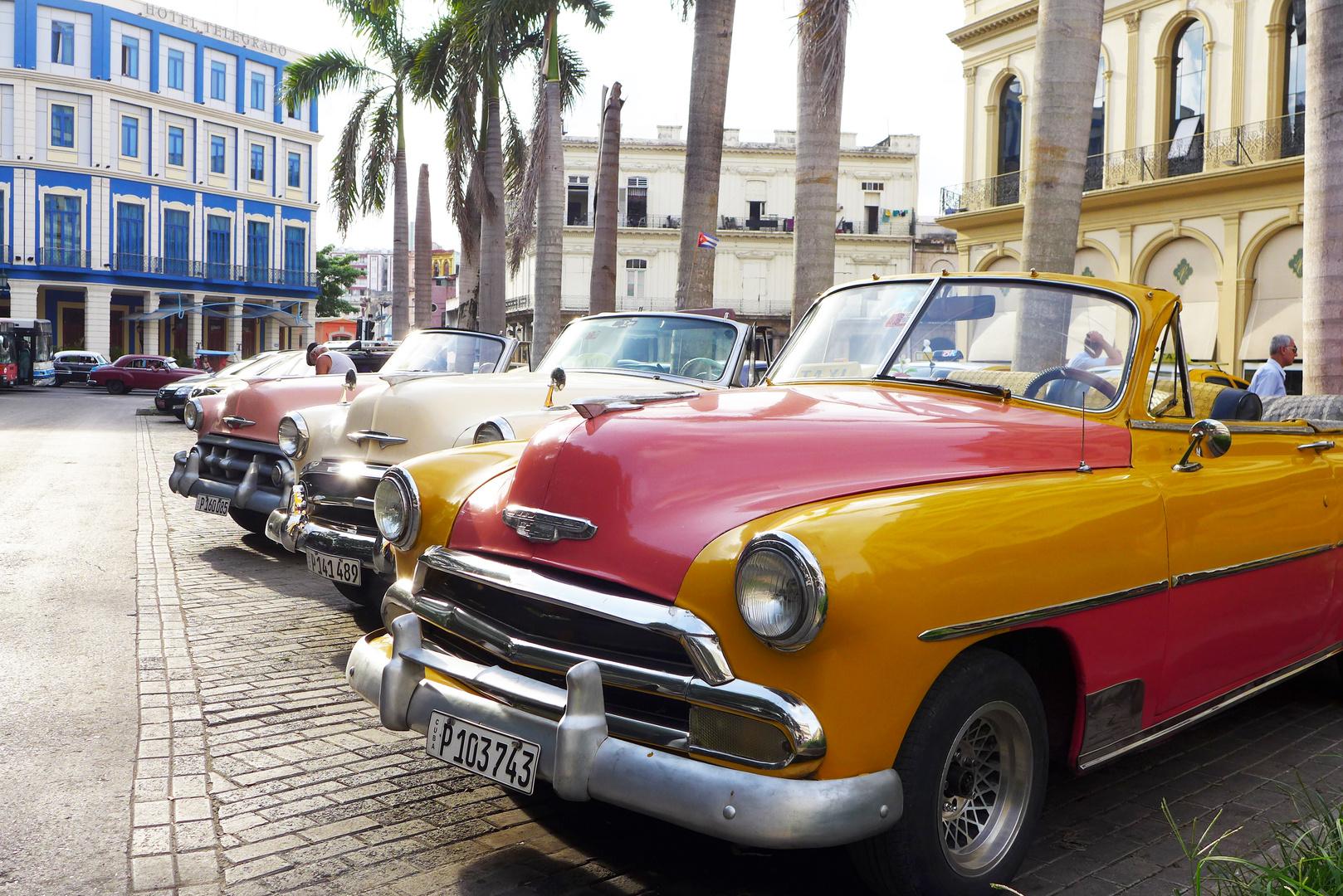 Diese Autos Verbindet Man Mit Kuba Foto Bild North America
