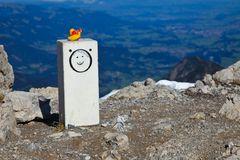 Diese etwas andere Gipfelkreuz....