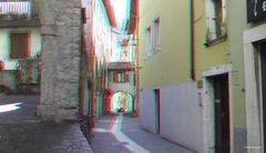 Diese Gasse in Torbole am Gardasee erinnert mich irgendwie an Spitzweg