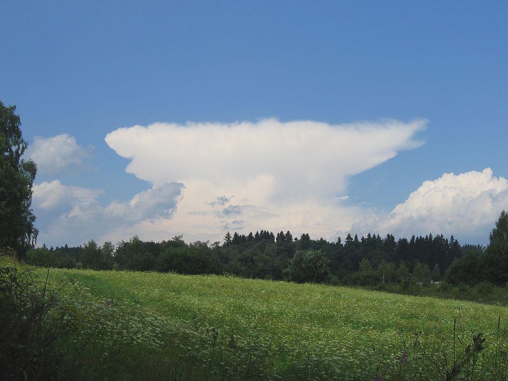 Diese herrliche Ambosswolke (Cumulonimbus)...