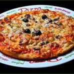 Diese leckere Pizza aß ich am....