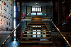 Diese Treppe müßt Ihr nutzen...