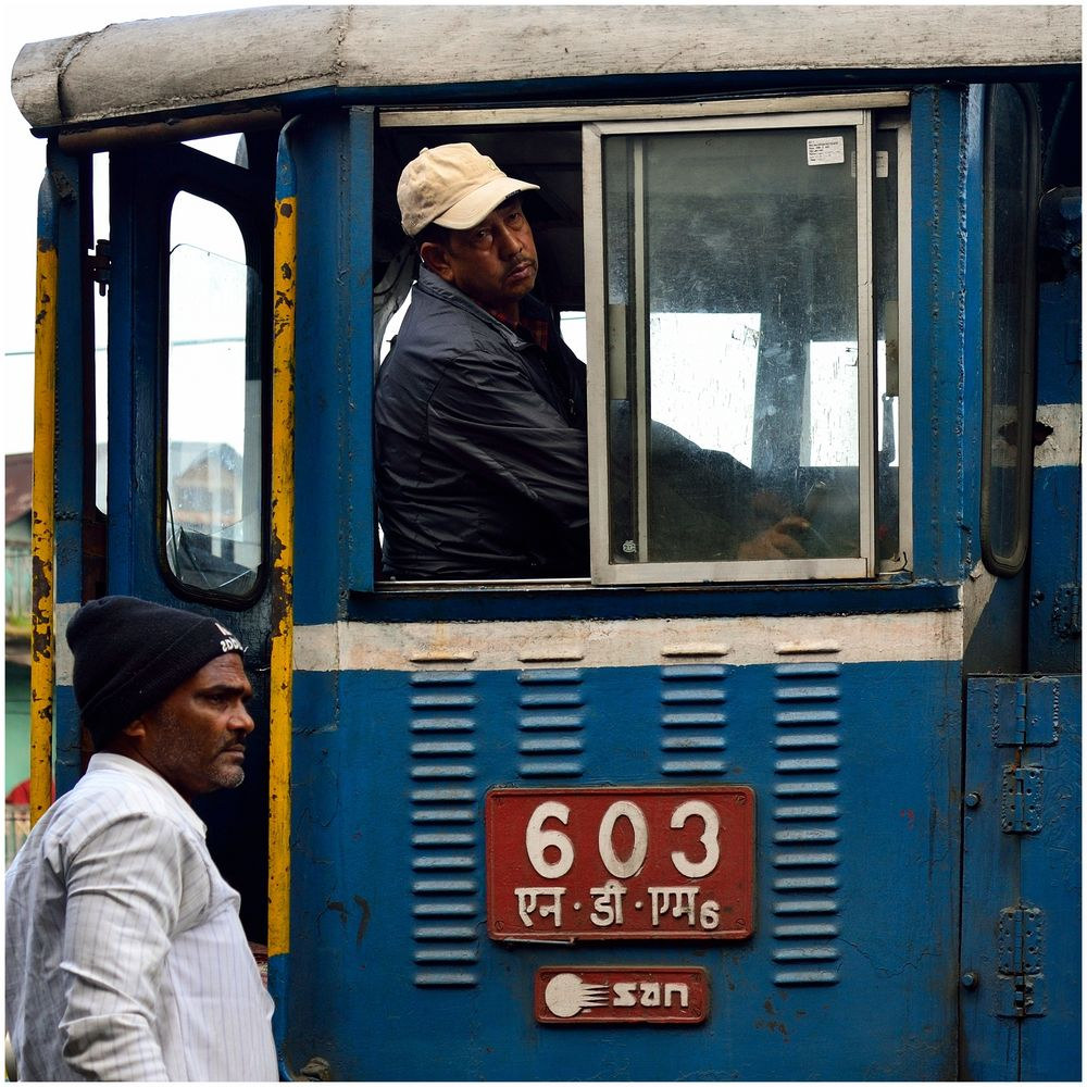 Diesel in Darjeeling