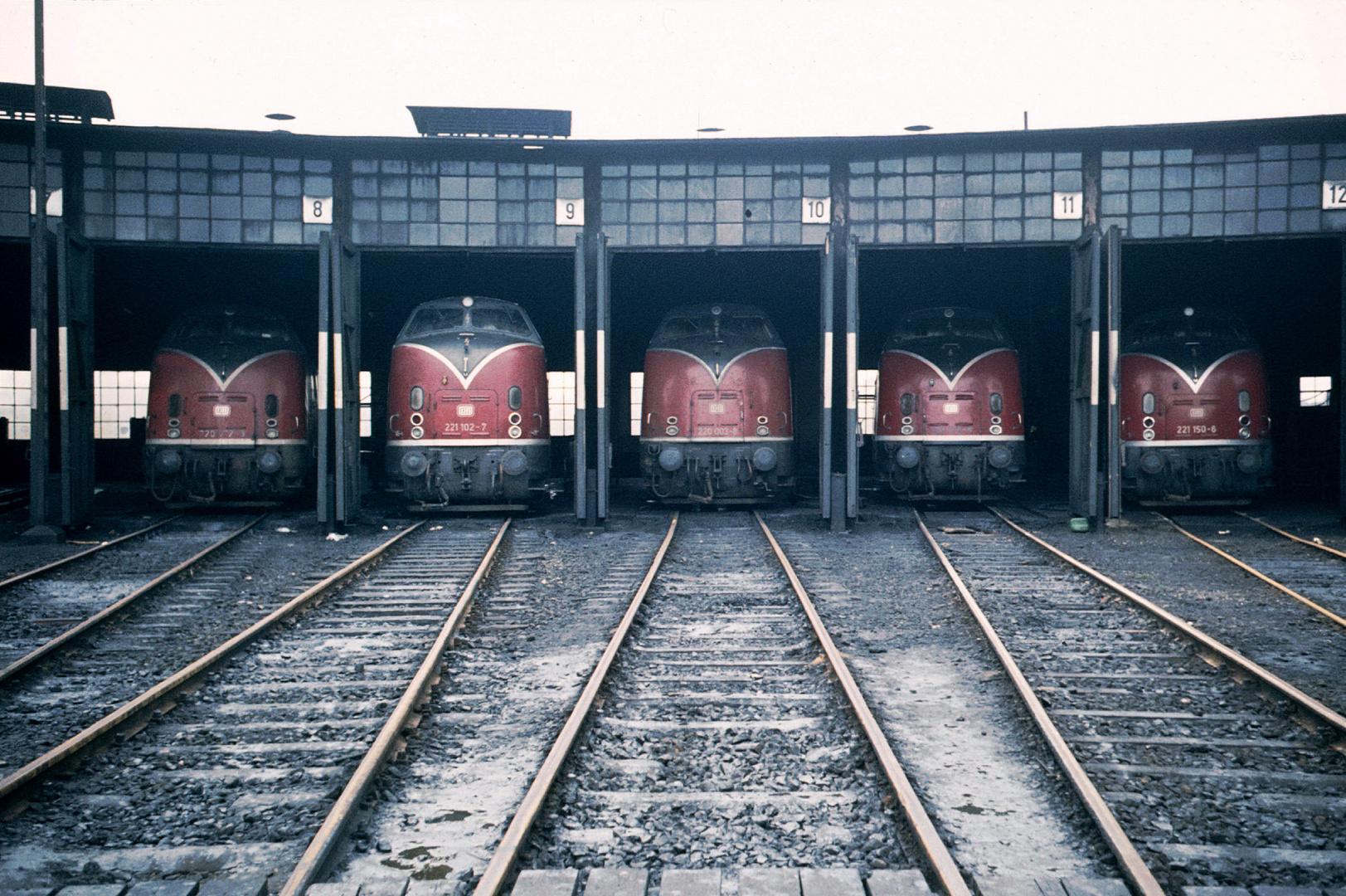 Diesellok Baureihe 220 und 221