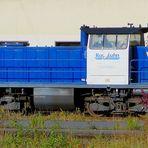 Diesellok der Rurtalbahn