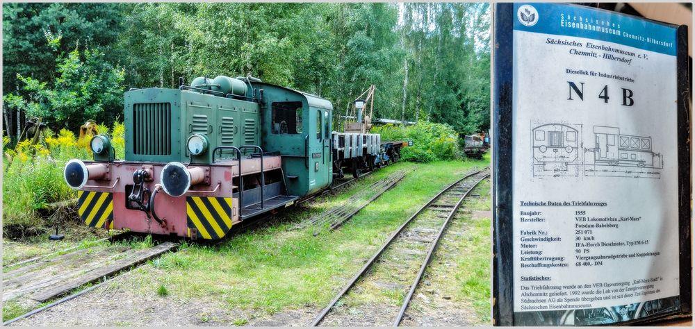 Diesellok für Industriebetriebe