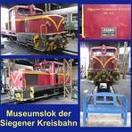 Diesellok im Südwestfälischen Eisenbahnmuseum Siegen