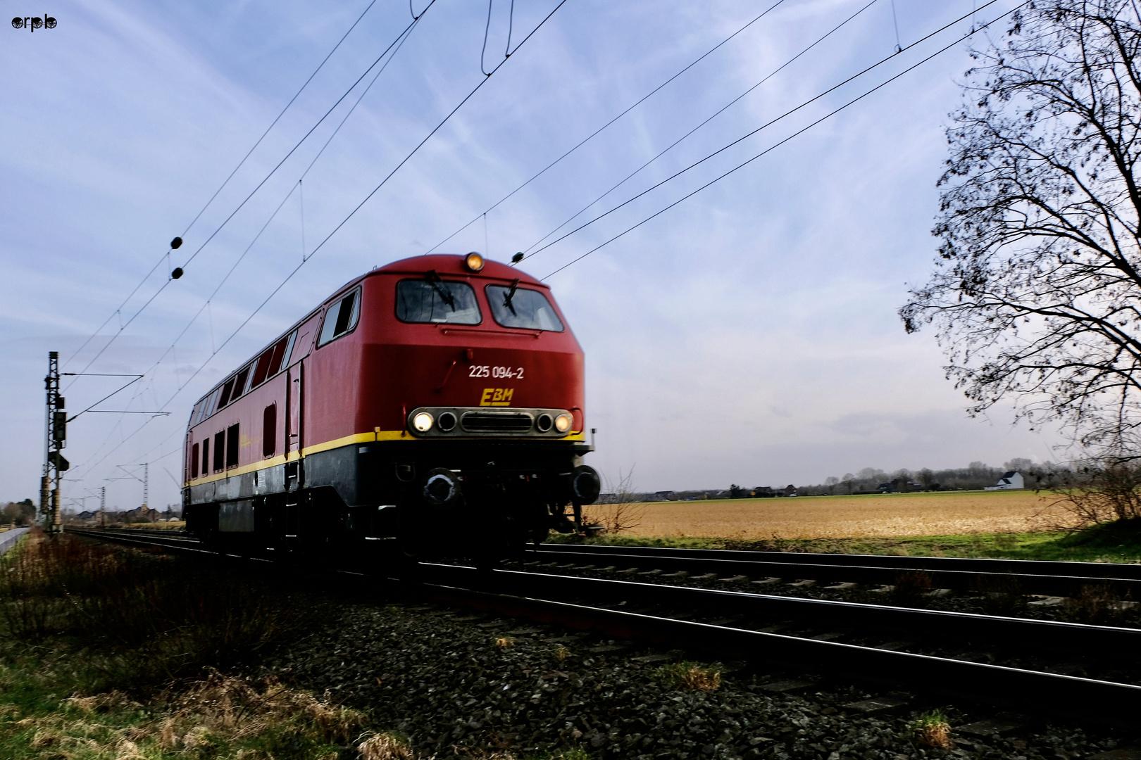 Diesellokomotive 225 094-2 EBM