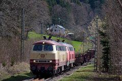 Dieselpower auf der Höllentalbahn